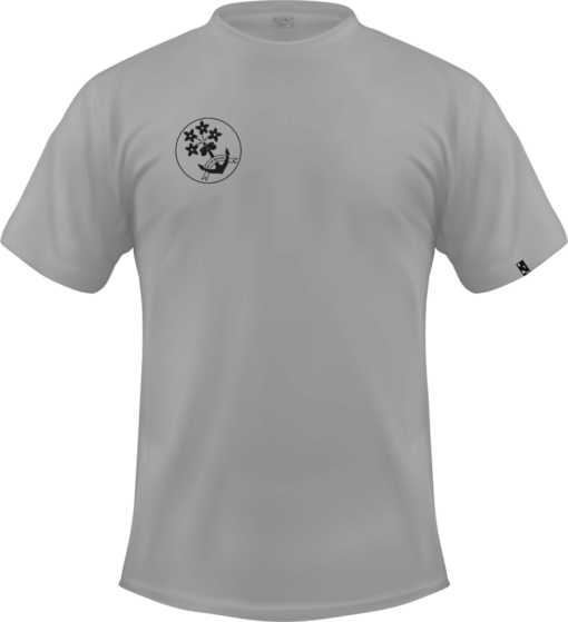 Graues T-Shirt Logo Vorderseite - Be the reason