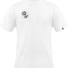 Weisses T-Shirt Logo Vorderseite - Be the reason